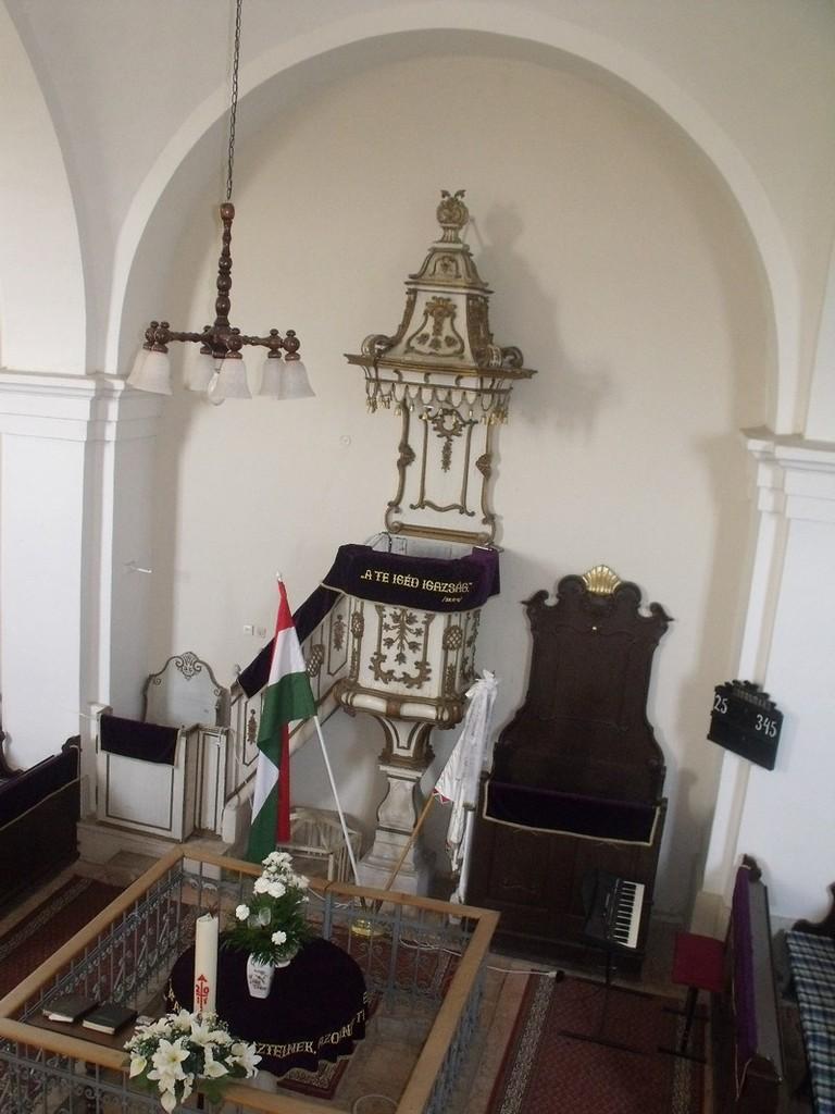 Református templom belső